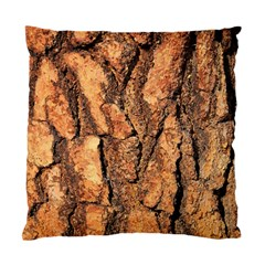 Bark Texture Wood Large Rough Red Wood Outside California Standard Cushion Case (one Side)