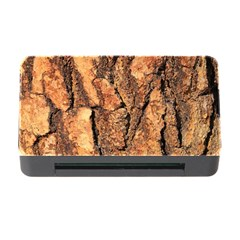 Bark Texture Wood Large Rough Red Wood Outside California Memory Card Reader With Cf
