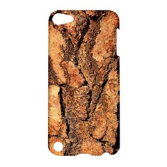 Bark Texture Wood Large Rough Red Wood Outside California Apple Ipod Touch 5 Hardshell Case