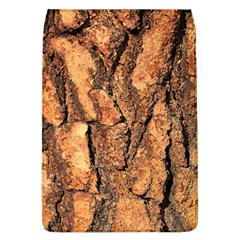 Bark Texture Wood Large Rough Red Wood Outside California Flap Covers (l)  by BangZart