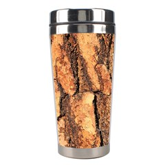 Bark Texture Wood Large Rough Red Wood Outside California Stainless Steel Travel Tumblers