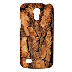 Bark Texture Wood Large Rough Red Wood Outside California Galaxy S4 Mini by BangZart