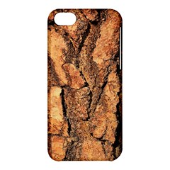 Bark Texture Wood Large Rough Red Wood Outside California Apple Iphone 5c Hardshell Case by BangZart