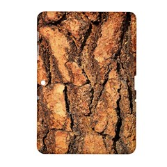 Bark Texture Wood Large Rough Red Wood Outside California Samsung Galaxy Tab 2 (10 1 ) P5100 Hardshell Case  by BangZart