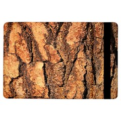 Bark Texture Wood Large Rough Red Wood Outside California Ipad Air Flip by BangZart