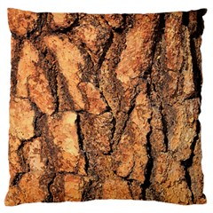 Bark Texture Wood Large Rough Red Wood Outside California Large Flano Cushion Case (one Side)