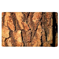 Bark Texture Wood Large Rough Red Wood Outside California Apple Ipad Pro 12 9   Flip Case by BangZart