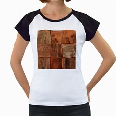 Barnwood Unfinished Women s Cap Sleeve T