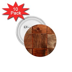 Barnwood Unfinished 1 75  Buttons (10 Pack)
