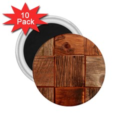 Barnwood Unfinished 2 25  Magnets (10 Pack)  by BangZart