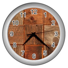 Barnwood Unfinished Wall Clocks (silver)  by BangZart