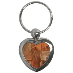 Barnwood Unfinished Key Chains (heart)  by BangZart