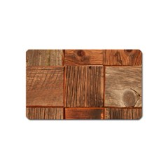 Barnwood Unfinished Magnet (name Card) by BangZart