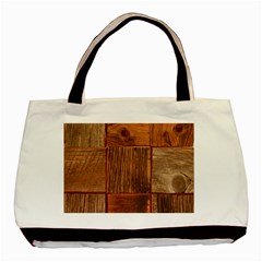 Barnwood Unfinished Basic Tote Bag