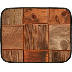 Barnwood Unfinished Fleece Blanket (mini) by BangZart
