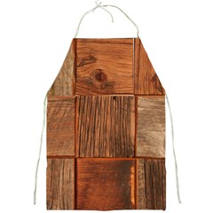 Barnwood Unfinished Full Print Aprons by BangZart