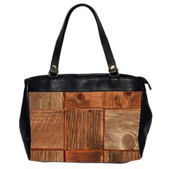 Barnwood Unfinished Office Handbags (2 Sides)  by BangZart
