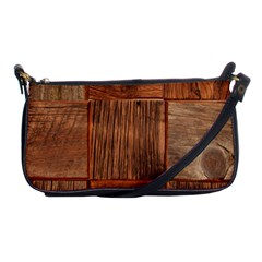 Barnwood Unfinished Shoulder Clutch Bags by BangZart
