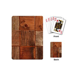 Barnwood Unfinished Playing Cards (mini)  by BangZart