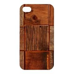 Barnwood Unfinished Apple Iphone 4/4s Hardshell Case by BangZart