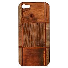 Barnwood Unfinished Apple Iphone 5 Hardshell Case