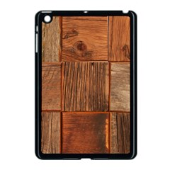Barnwood Unfinished Apple Ipad Mini Case (black)