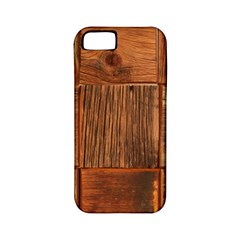 Barnwood Unfinished Apple Iphone 5 Classic Hardshell Case (pc+silicone) by BangZart