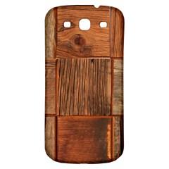 Barnwood Unfinished Samsung Galaxy S3 S Iii Classic Hardshell Back Case by BangZart