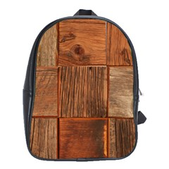 Barnwood Unfinished School Bags (xl)  by BangZart