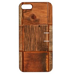 Barnwood Unfinished Apple Iphone 5 Hardshell Case With Stand by BangZart