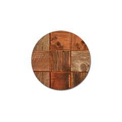 Barnwood Unfinished Golf Ball Marker by BangZart