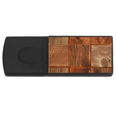 Barnwood Unfinished Rectangular Usb Flash Drive