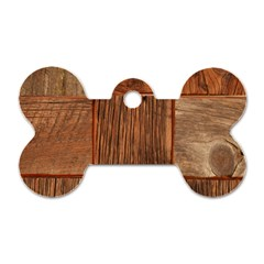 Barnwood Unfinished Dog Tag Bone (two Sides) by BangZart