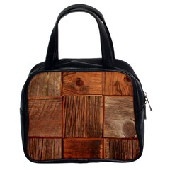 Barnwood Unfinished Classic Handbags (2 Sides)