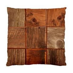 Barnwood Unfinished Standard Cushion Case (one Side) by BangZart