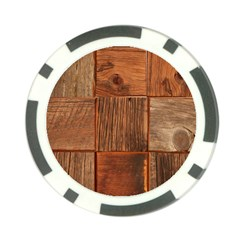 Barnwood Unfinished Poker Chip Card Guard (10 Pack)