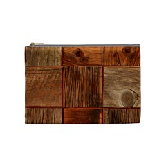 Barnwood Unfinished Cosmetic Bag (medium)  by BangZart