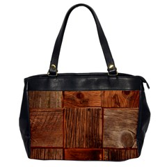 Barnwood Unfinished Office Handbags by BangZart