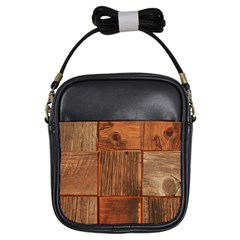 Barnwood Unfinished Girls Sling Bags by BangZart