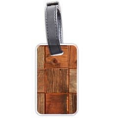 Barnwood Unfinished Luggage Tags (two Sides) by BangZart