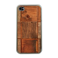Barnwood Unfinished Apple Iphone 4 Case (clear)