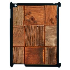 Barnwood Unfinished Apple Ipad 2 Case (black) by BangZart