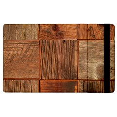 Barnwood Unfinished Apple Ipad 2 Flip Case by BangZart