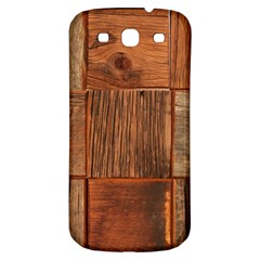Barnwood Unfinished Samsung Galaxy S3 S Iii Classic Hardshell Back Case by BangZart