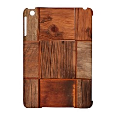Barnwood Unfinished Apple Ipad Mini Hardshell Case (compatible With Smart Cover) by BangZart
