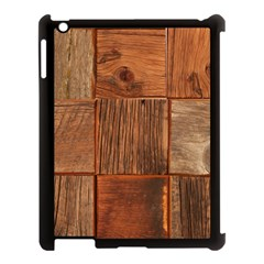 Barnwood Unfinished Apple Ipad 3/4 Case (black) by BangZart