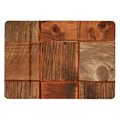 Barnwood Unfinished Samsung Galaxy Tab 10 1  P7500 Flip Case