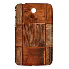 Barnwood Unfinished Samsung Galaxy Tab 3 (7 ) P3200 Hardshell Case  by BangZart