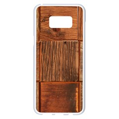 Barnwood Unfinished Samsung Galaxy S8 Plus White Seamless Case by BangZart