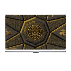 Aztec Runes Business Card Holders